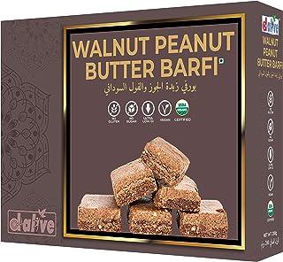 d alive Walnut Peanut Butter Barfi Indian Sweets, Mithai -33 g x 6 Servings, 200 g (Sugar-Free, Gluten-Free, Organic, Lact...