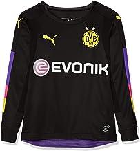 PUMA - Camiseta de Portero de Borussia Dortmund GK con anuncios para niños
