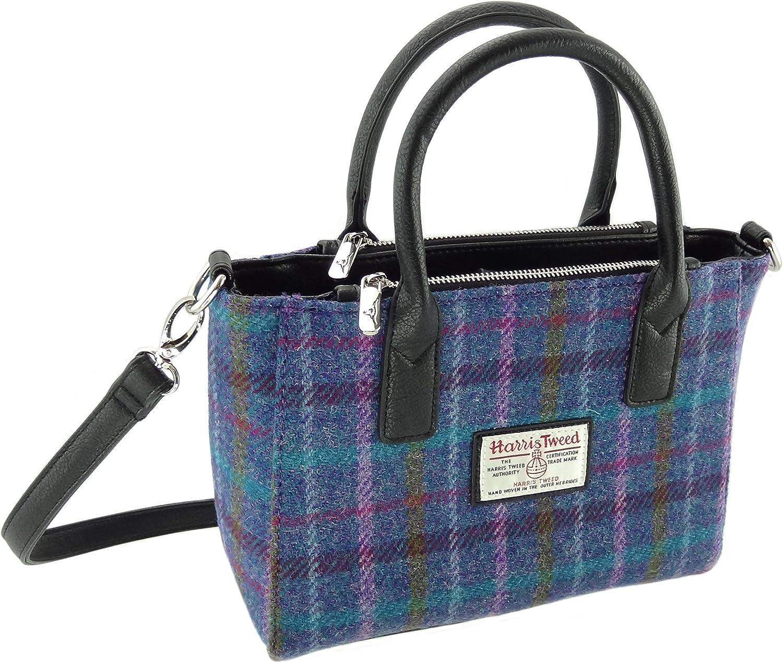 Ladies Authentic Harris Tweed Small Tote Bag Brora LB1228