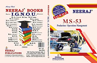 MS-53, Production - Operations Management