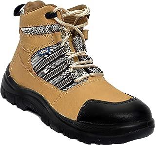 Allen Cooper AC 82165_9006_08 Nubuck Leather Safety Shoe Size 8 Uk/India