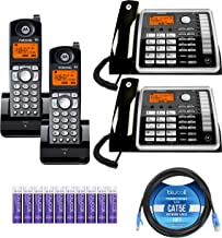 $239 » Motorola ML25260 2-Line Corded Phones with Digital Answering System (2-Pack) Bundle with ML25055 DECT 6.0 Cordless Handset...