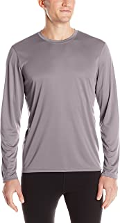 Men's Long-Sleeve Double-Dry Performance T-Shirt