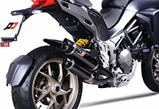 DUCATI MULTISTRADA 1200/1260 DVT 2 in 1 in 2 full system + catalysts + twin round carbon muffler set MAGNUM 2015