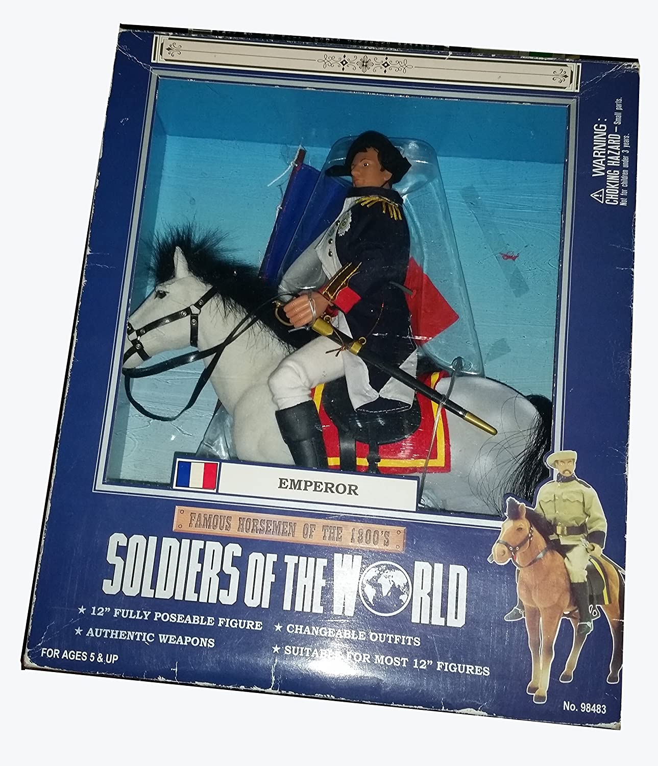Soldiers of the World, Famous Horsemen of the 1800's, EMPEROR
