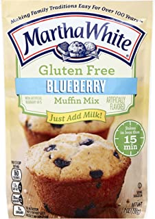 Martha White Gluten Free Muffin Mix, Blueberry, 7 oz
