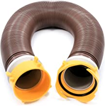 Camco 39639 10' Revolution Swivel Sewer Hose Extension with Pre-Attached Lug and Bayonet Fittings