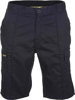 SITE KING Mens Combat Cargo Work Shorts Sizes 28 to 52 - Black/Navy/Khaki