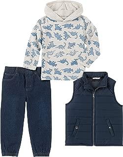 Kids Headquarters Boys' 3 Pieces Vest Pants Set