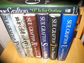 "Seven Volume Sue Grafton Set: ""O"" Is for Outlaw, ""P"" Is for Peril, ""Q"" Is for Quarry, ""R"" Is for Ricochet, ""S"" Is for Sile..."