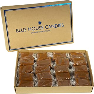 Blue House Soft and Chewy Handcrafted Gourmet Caramel Candies, Gift Boxed (Original Caramels)