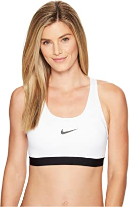 best service f601d 1fea1 White Black Black. 167. Nike. Pro Classic Padded Medium Support Sports Bra.   35.00