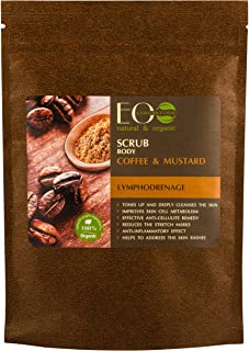 EO Laboratorie Organic Body Scrub Coffee And Mustard (200g)