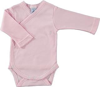 BABIDU Baby Body Cruzado Basico Interlock Bodysuit