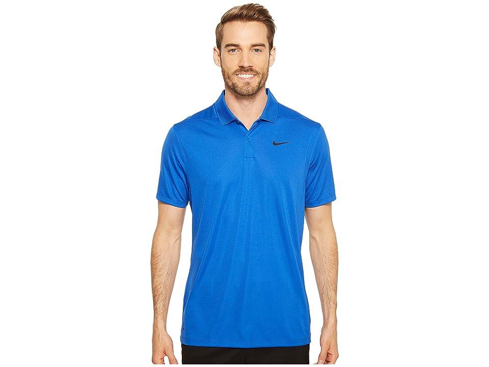 Nike Golf Dri-FITtm Victory Polo (Game Royal/Black) Men