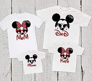 Disney Matching Family Shirts, Family Disney Trip Family Shirts, Disney Mickey Minnie Shirts, Disney T-shirts