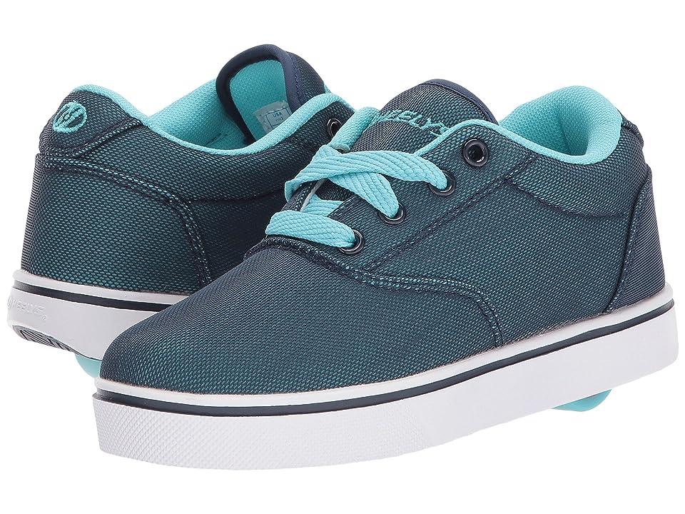 Heelys Launch (Little Kid/Big Kid/Adult) (Navy/Light Blue Super Mesh) Kids Shoes