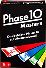 Mattel Games FPW34 Phase 10 Masters Card Game