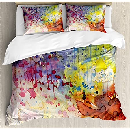 Grunge Vintage Design Print Details about  /Abstract Quilted Bedspread /& Pillow Shams Set