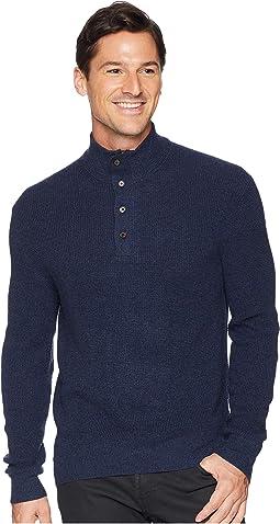 Textured Loryelle Mock Neck Sweater