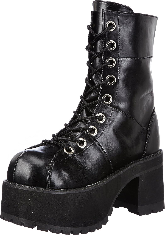 Pleaser Women's Ranger-301 Platform Boot Black