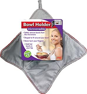 Jokari Hot Bowl Holder - Bowl Cozy for Hot Bowls, Microwave Hot Bowl Holder, Coozie for Hot or Cold Bowls, Best for Kids, Microwave Safe Kitchen Accessory & Washable Koozie, Great Gift Idea (2 Pack)