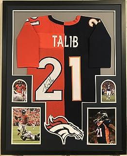 Aqib Talib Signed Autographed Framed Jersey Denver Broncos Super Bowl Champions JSA