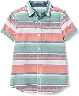 Gymboree Boys' Short Sleeve Button Down Woven Shirt