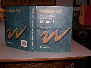 Best wisc iv manual Reviews