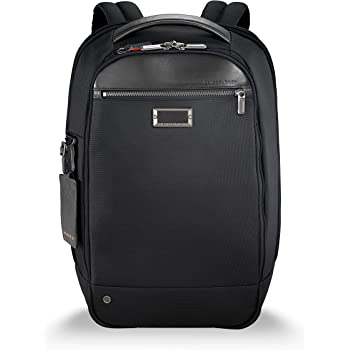 Briggs & Riley @ Work-Medium Backpack, Black, Slim