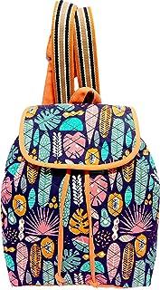 PRIMROSE Girl's Womens Backpack (Orange)
