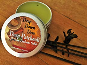 Deep Patchouli Perfume Solid, Perfume Balm, Perfume Rub, Aromatherapy, Essential Oils, Patchouli Lover, Travel Perfume, 1 oz.
