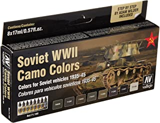 Vallejo Soviet Afv WWII Camo Colors Paint