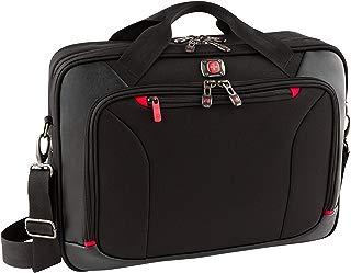 Wenger Highwire - portafolios para computadora portátil de 17 pulgadas, Negro, Una talla