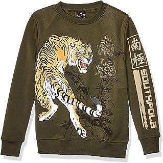 Southpole Boys' Big Fleece Crewneck Sweatshirt