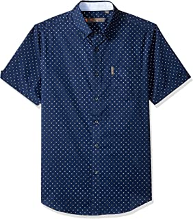 Ben Sherman Men's Ss Starburst Print Shirt