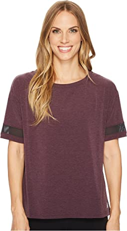 New Balance - Short Sleeve Layer Top