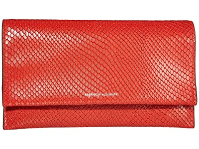 Rebecca Minkoff Wallet Clutch (Tomato) Handbags