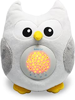 Bubzi Co Baby Toys Toddler White Noise Sound Machine, Sleep Aid Night Light, Unique Baby Girl Gifts & Baby Boy Gifts, Woodland Baby Shower Gifts, Portable Baby Soother, New Baby Gift Plush Toy