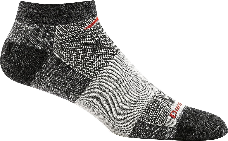 Medium Darn Tough men's merino no show tab light cushion running sock