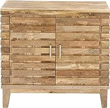 Deco 79 Wooden 2 Door Cabinet