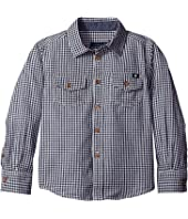 Lucky Brand Kids - Long Sleeve Button Down Woven Shirt (Little Kids/Big Kids)
