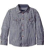 Lucky Brand Kids - Long Sleeve Button Down Woven Shirt (Little Kids/Big Kids)