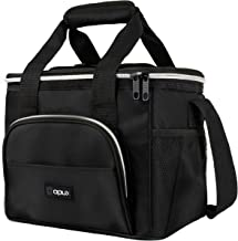 OPUX Insulated Collapsible Soft Cooler 9 Quart   Lunch Bag for Men, Small Travel Cooler for Camping, Family, BBQ, Picnic, ...