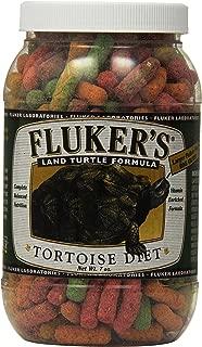 Fluker's 70021 Tortoise Diet Large Pellet Food, 7-Ounce