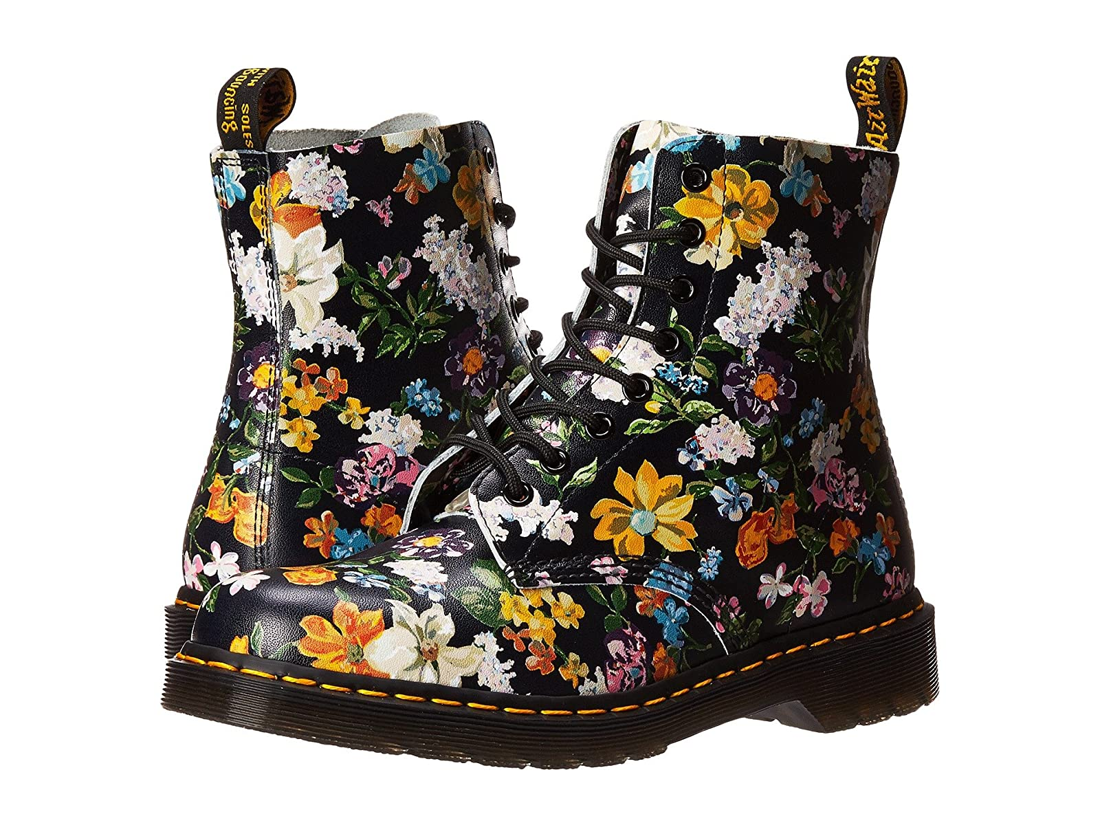 Dr. Martens Pascal Darcy Floral 8-Eye BootCheap and distinctive eye-catching shoes