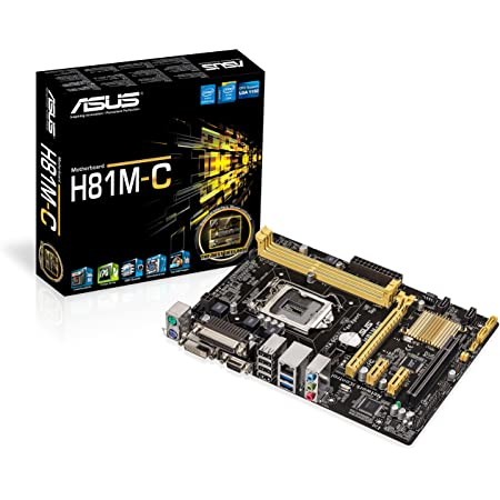 Asus H81m C Motherboard Computers Accessories