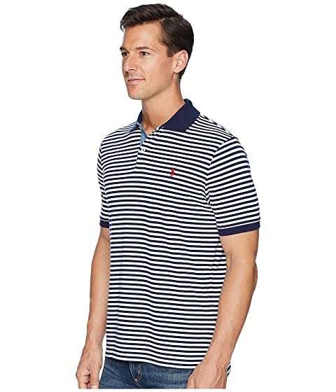 Where To Buy Cheap Real Polo Ralph Lauren Classic Fit Yarn-Dyed Striped Polo Cruise Navy/White 1 Hot Sale 8ZvQXs6X2