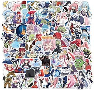 That Time I Got Reincarnated as a Slime Stickers 100 Packs,Cute Anime Vinyl Stickers for Car Water Bottle Skateboard Lugga...