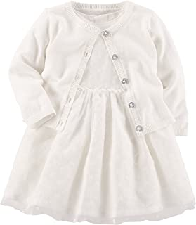 Girls' Special Occasion Dress with Cardigan